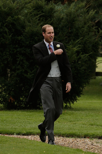 Prince William - Lady Laura Marsham Marries James Meade At Gayton Hall