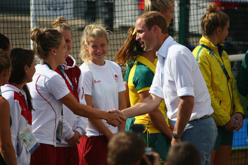 Prince William 20th Commonwealth Games: Hockey