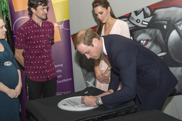 Prince William The Duke And Duchess Of Cambridge Tour Australia And New Zealand - Day 17