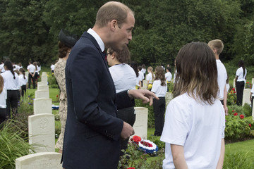 Prince William Royal Family Attend The Somme Centenary Commemorations In France