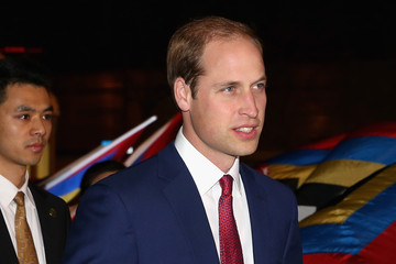 Prince William Prince William Visits China: Day 2