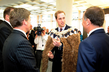 Simon Power Prince William Visits New Zealand - Day 2