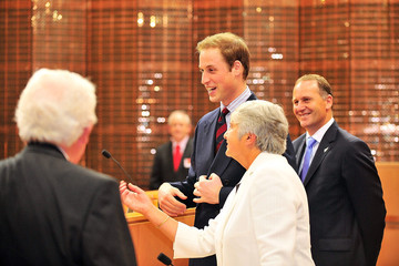 Prince William Dame Sian Elias Prince William Visits New Zealand - Day 2