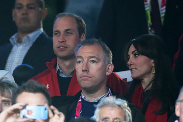 Prince William England v Wales - Group A: Rugby World Cup 2015