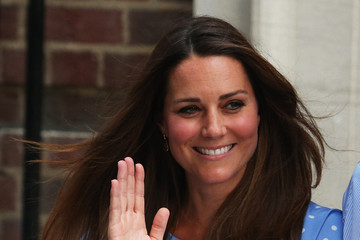 Prince of Cambridge Duke And Duchess Of Cambridge Leave The Lindo Wing With Their Newborn Son