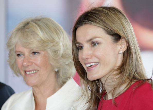 princess letizia of asturias. Princess Letizia And Camilla,