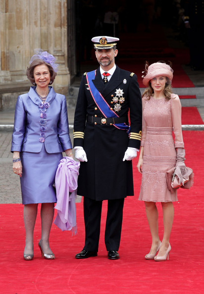princess letizia of spain wedding dress. Princess Letizia Queen Sofia