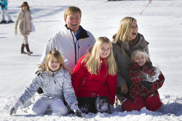 Princess Alexia The Dutch Royal Family Attend Their Annual Winter Photocall
