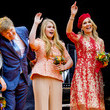 Princess Alexia The Dutch Royal Family Attend King's Day In Groningen