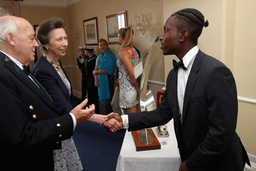 Princess Anne Royal London Yacht Club Champagne Party At Lendy Cowes Week