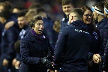 Princess Anne Scotland v England - Guinness Six Nations