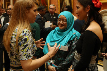 Princess Beatrice The Queen Hosts Reception to Present The Queen's Young Leaders Awards