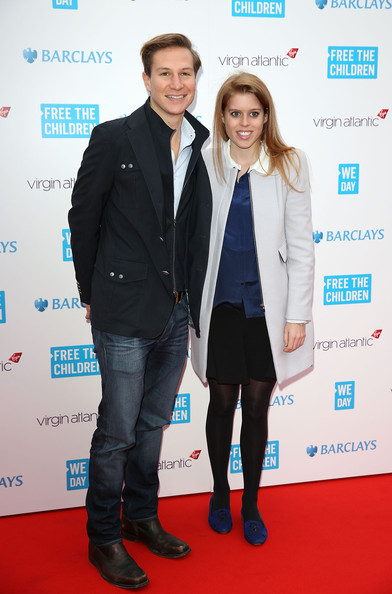 Princess Beatrice - Arrivals at We Day UK