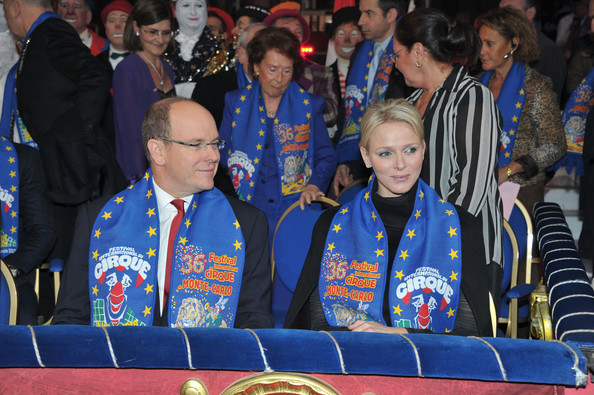 Princess Charlene of Monaco Prince Albert II of Monaco and Princess Charlene of Monaco attend the opening ceremony of the Monte-Carlo 36th International Circus Festival on January 19, 2012 in Monte-Carlo, Monaco.