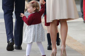 Princess Charlotte 2016 Royal Tour To Canada Of The Duke And Duchess Of Cambridge - Victoria, British Columbia