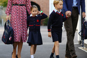 Kate Middleton and Prince George Photos Photo