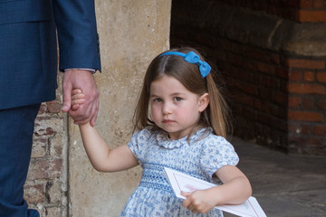 Princess Charlotte Christening Of Prince Louis Of Cambridge At St James's Palace