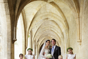 Princess Claire of Luxembourg Wedding Of Prince Felix Of Luxembourg & Claire Lademacher : Reception At 'Couvent Royal'