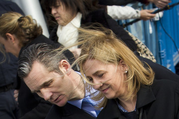 Princess Cristina Trial of Spanish Princess Cristina for Corruption Continues