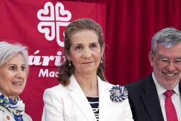 Princess Elena Princess Elena Attends Charity Day In Madrid
