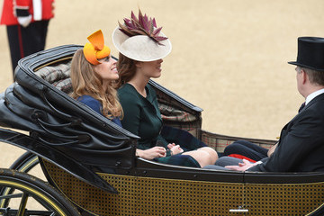 Princess Eugenie Trooping the Colour 2016