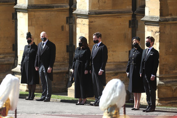 Princess Eugenie Princess Beatrice The Funeral Of Prince Philip, Duke Of Edinburgh Is Held In Windsor