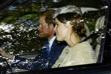 Princess Eugenie Theresa May Visits the Queen at Balmoral Castle