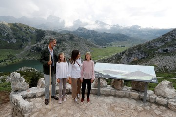 Princess Leonor Spanish Royals Attend 13th Centenary of The Reign of Asturias