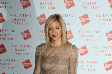 Princess Marie-Chantal of Greece Valentino: Master Of Couture: VIP View - Arrivals