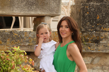 Princess Mary Danish Royal Family Gathers in Luzech
