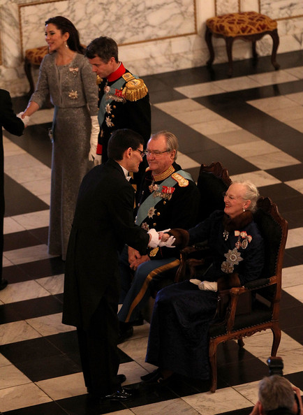 Princess Mary - Queen Margrethe Holds New Year's Levee