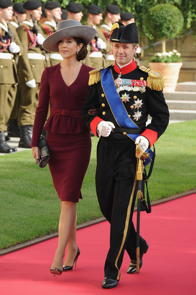 Princess Mary - The Wedding Of Prince Guillaume Of Luxembourg & Stephanie de Lannoy - Official Ceremony