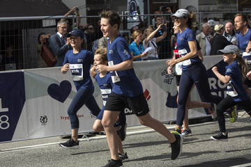 Princess Mary Royal Run In Copenhagen