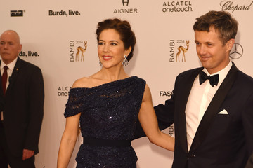 Princess Mary Arrivals at the Bambi Awards