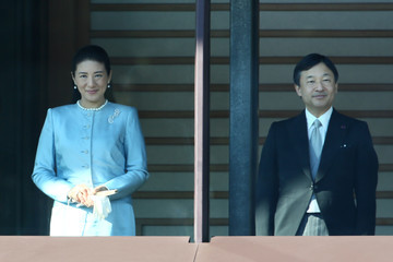Princess Masako Japan's Royal Family Celebrates the New Year