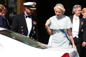 Princess Mette-Marit The Wedding Of Princess Madeleine & Christopher O'Neill