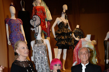 Princess Michael of Kent Zandra Rhodes: 50 Years Of Fabulous Opens At The Fashion And Textile Museum