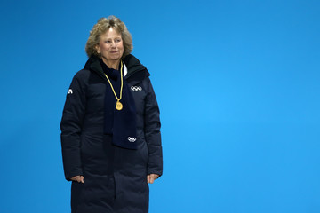 Princess Nora of Liechtenstein Medal Ceremony - Winter Olympics Day 8