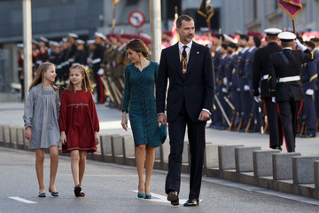 Princess Sofia Spanish Royals Attend the 12th Legislative Sessions Opening