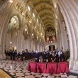 Princess of Asturias Spanish Royals Attend Mass For Victims Of Covid-19 at la Almudena Cathedral