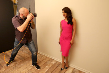 Priyanka Chopra Behind The Scenes Of The Getty Images Portrait Studio Powered By Samsung Galaxy At 2015 Summer TCA's