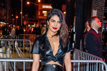 Priyanka Chopra Heavenly Bodies: Fashion & The Catholic Imagination Costume Institute Gala - After Parties