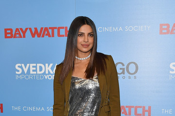 "Priyanka Chopra The Cinema Society Hosts a Screening of ""Baywatch"""
