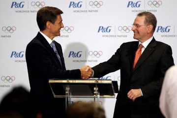 Marc Pritchard Proctor & Gamble Announce Global Olympic Parnership With IOC