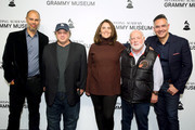 Jesse Collins, David Wild, Chantel Sausedo, Ken Ehrlich and Raj Kapoor attend Producing The GRAMMY Awards: the Team That Makes It Happen at the GRAMMY Museum on January 13, 2020 in Los Angeles, California.