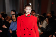 Gigi Hadid walks the runway for the Proenza Schouler fashion show during February 2020-New York Fashion Week: The Shows on February 10, 2020 in New York City.