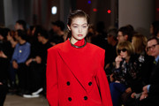 Gigi Hadidl walks the runway for the Proenza Schouler fashion show during February 2020-New York Fashion Week: The Shows on February 10, 2020 in New York City.