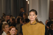 Doutzen Kroes walks the runway for the Proenza Schouler fashion show February 2020 - New York Fashion Week: The Shows on February 10, 2020 in New York City.