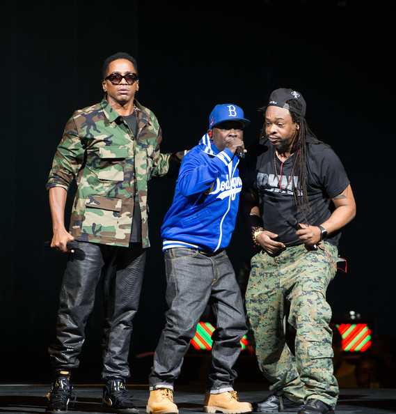 A Tribe Called Quest Performs in NYC