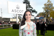 Laura Wright during the QIPCO British Champions Day at Ascot Racecourse on October 21, 2017 in Ascot, United Kingdom.